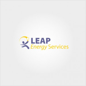 Leap Energy Services website logo design