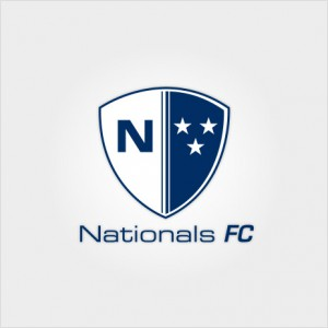 Nationals FC website logo design