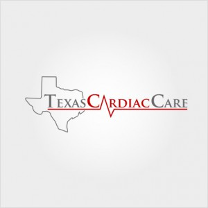 Texas Cardiac Care website logo design