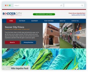 Soccer City Frisco Homepage
